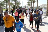 Sheikha Moza Bint Nasser joins more than 10,000 visitors at QF to celebrate National Sport Day