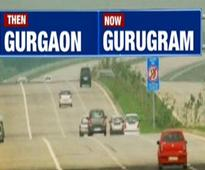 From Gurgaon to Gurugram: Fast forward city goes past forward