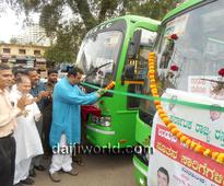 Udupi: Minister Pramod Madhwaraj launches two new JNNURM buses