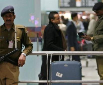 No security stamp on hand baggage tag at seven airports