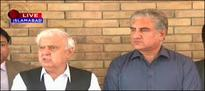 PTI delegation meets Aftab Sherpao over Panama Papers