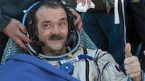 Astronaut Chris Hadfield savours fresh air of Earth