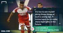 Player Spotlight: Juan Agudelo embraces status as young veteran in MLS