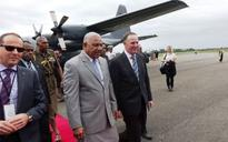 Key says Fiji visit was received well