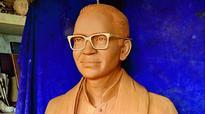 Khammam: Dasarathi statues at Lakaram Park