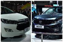 Tata Hexa Vs Toyota Innova Crysta  Comparison