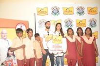 Dinesh Karthik and Dipika Pallikal together inspires people of Chennai to be Shiksha Superheroes