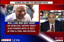 Coal scam: Govt defiant, backs Law Minister as Oppn asks him to quit