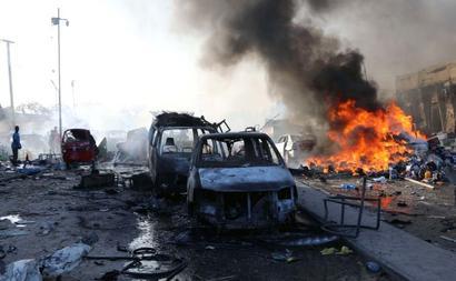 Somalia: Over 300 killed in twin truck bombings