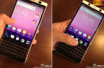 Photo leak possibly reveals BlackBerry's upcoming keyboard smartphone