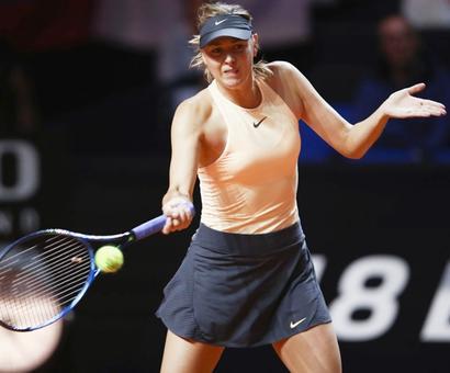 Sharapova stunned in Stuttgart opener