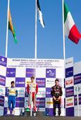 Kush Maini raises Indian Flag on car racing debut in Italian F4 championship
