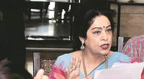 Release funds for setting up film institute in Chandigarh: Kirron Kher to Arun Jaitley