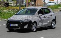2018 Ford Fiesta prototype hints at sportier styling
