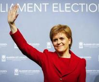 Voters punish the Labour Party in Scotland