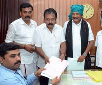 Vaiko withdraws from filing nomination