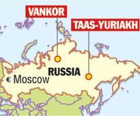 Oil trio buy stake in Russia