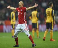 UCL: Round of 16 - Bayern Munich annihilate Arsenal 5-1 (first leg)