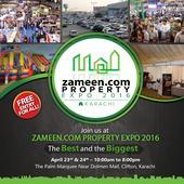 Zameen.com Property Expo 2016 (Karachi) to be held on April 23, 24