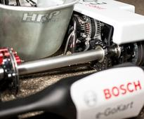 Bosch's all-electric e-kart brings EV speed and serenity to go-kart racing