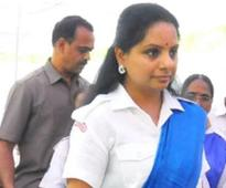 MP K Kavitha opposes Pakistan actors in Bollywood