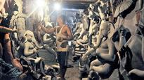 Despite campaigns, eco-friendly Ganesh idols fail to sell as clay gets pricey this year