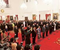 New Indonesia Cabinet includes reformer, rights abuser