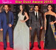 Stardust Awards 2015: Salman Khan, Varun Dhawan, Alia Bhatt, Aishwarya Rai Bachchan make a stylish entry  view pics!