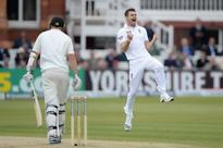 'Emotional moment' as England's James Anderson reaches 300-wicket landmark