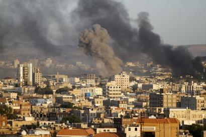 Seven civilians dead as Yemen rocket hits Saudi