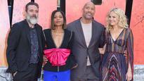'Rampage' star Malin Akerman calls Dwayne Johnson a 'super softie'