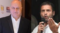 Nobody has insulted PM Manmohan Singh more than you: Anupam Kher slams Rahul Gandhi