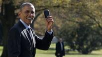 President Obama finally lets go of his BlackBerry