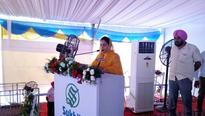 Minister of Food Processing Industry laid foundation stone for First Maize Based Mega Food Park in Kapurthala, Punjab