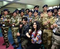 Real life Commando`s meet the reel Commando at Delhi!