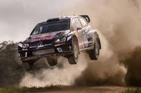 Sport picture of the day Sport picture of the day: airborne at the Rally Australia shakedown
