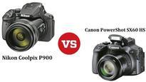 Head to Head: Nikon Coolpix 900 vs. Canon PowerShot SX60 HS.