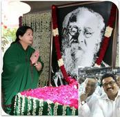 Jaya Returns: Rajinikanth, Sarathkumar, Karthi, Vikram Prabhu and Other Celebs Attend Swearing-in Ceremony [PHOTOS]