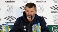 14:56Roy Keane a happy camper with Republic of Ireland
