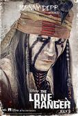 The Lone Ranger Character Posters: Stubble And Facepaint In The Old West