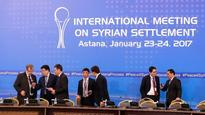 The Latest: Syria talks focused on truce begin in Kazakhstan