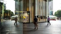 Singapore's malls are empty, as shoppers spend less