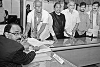 BJP, Cong. candidates file nominations