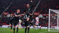 Premier League: David Silva's double against Stoke pushed Manchester City closer to title