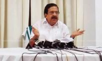 Welfare pension distribution made a party function: Chennithala