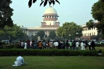 Give details of funds for court infrastructure: SC to Centre