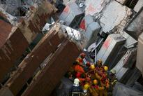 Mother, sons freed from debris in Taiwan