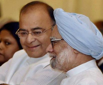 Jaitley hits back at Manmohan Singh; asks him to be 'non-partisan'