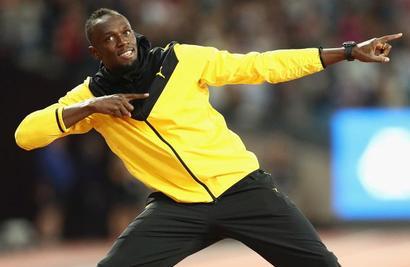 Usain Bolt to put Hamilton under starter's orders