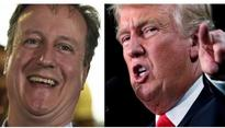 Don't have to listen to Donald Trump's wiretaps anymore, jokes David Cameron